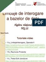 Limbaje De Interogare SQL