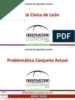 POLICÍA CÍVICA, Observatorio Ciudadano de León