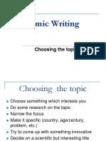 1. Choosing the topic.pptx