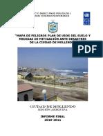 4321 Mapa de Peligros Plan de Usos Del Suelo y Medidas de Mitigacion Ante Desastres de La Ciudad de Mollendo Arequipa