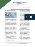 Boletín 9-2016 -Tips Para El Cierre Contable