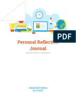 personal reflective journal