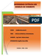 Análisis Estructural II - Álgebra Lineal