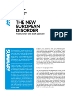 Ecfr117 The new european disorder Essay