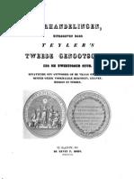 De Munten Der Frankische en Duitsch Nederlandsche Vorsten Door P O Van Der Chijs Uitgeg Door Teyler s Tweede Genootschap