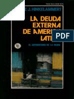 La deuda externa de América Latina · Franz Hinkelammert