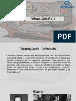 Telepsiquiatría