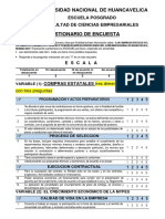 Primera Clase Instrumento Encuesta Maestria