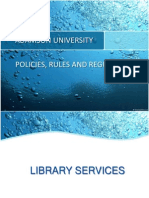 LECTURE_3_University Policies, Rules and Guidelines