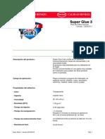 TDS LOCTITE Super Glue 3 Original