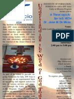 IFFAsia 2010 Theological Series