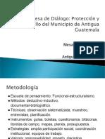Mesa de Diálogo Economía Antigua