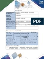 Guía de Actividades y Rubrica de Evaluación - Paso 6 Entregar El de Proyecto Final y Sustentación