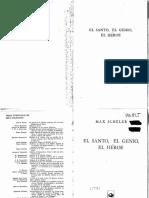 Scheler, Max. El santo, el genio, el héroe..pdf