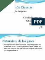 Presentación Ciencias los gases