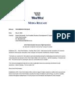 West Wind Aviation Resumes Flight Operations