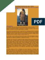 Proceso de La Independencia Del Peru