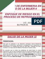 1era Clase de SM II Riesgo Materno Perinatal 2011