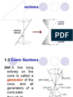 1.1 Conic Sections Part 1