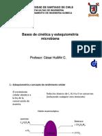 Clase 2 Bases de Cinética y Estequiomentria Microbiana Ing Ambiental