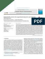 Hybrid DG_FV Schemes for Magnetohydrodynamics and Relativistic Hydrodynamics
