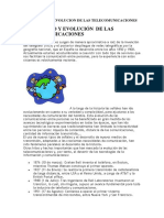 Origen y Desarrollo de Las Telecomunicaciones