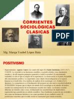 CORRIENTES SOCIOLÓGICAS CLÁSICAS