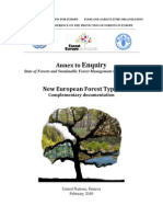 Appendix to European Forest Types Classification