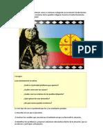 Reclamo Pueblo Mapuche
