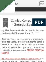 Reparando_ Cambio Correa Tiempo Chevrolet Spark 1.0 (1)