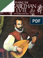 Elizabethian Lute by George Weigand