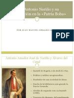 Unidad 4 Antonio Nariño - Juan Manuel Giraldo