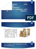 INVENTARIOS CON DEMANDA DETERMINÍSTICA DINÁMICA (VARIABLE CON.pptx