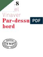 Le Cahier Du Tnp Par Dessus Bord Mise en Scene Christian Schiaretti
