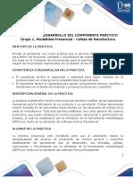Guía Grupo 1 - Modalidad Presencial - Celdas de Manufactura