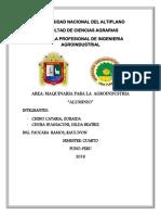 Universidad Nacional Del Altiplano Aluminio Maquinarias
