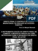 Direito Penal & Imigração - 17 de Junho de 2016