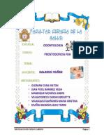 Informe de Monografia de Prostodoncia Fija
