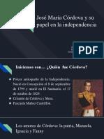Unidad 4 José Maria Córdova - Hader Correa