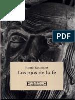 Pierre Rousselot - Los ojos de la fe.pdf