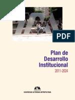 Plan de Desarrollo  Inst 2011-2024 UAM.pdf