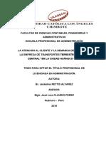 Atencion Al Cliente Rettis Alvarez Jackeline