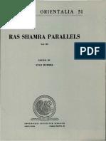 Ras Shamra parallels
