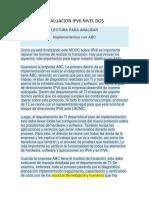 EVALUACION IPV6 NIVEL DOS.docx
