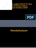 Penjerapan Logam Berat Fe Dan Pb Pada Oli by ichsan avianto & irfan kurniawan