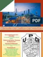 Diapositivas Procesos de Refinacion Historia Del Refino