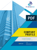 ֍ Company Profile INFOSIS-BLU