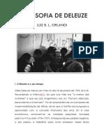 Luiz Orlandi - A Filosofia de Deleuze (Ensaio)