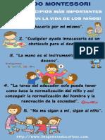 Método Montessori Los 10 Principios Más Importantes Que Cambian La Vida de Los Niños