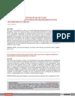 Participación Dialógica en La Universidad Condición Para El Desarrollo Del Pensamiento Crítico
